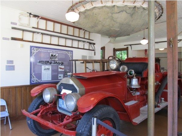 1923 American LaFrance Pumper featured inside the Fire Barn Museum in downtown Muskegon