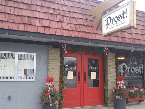 Prost Wine & Charcuterie is located at 576 S. Main.  Drink or dine, this is a great place to visit