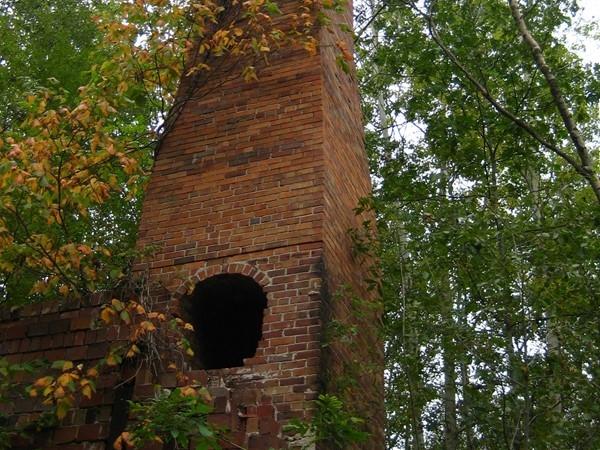 Remains of brick production at Lincoln Brick Park