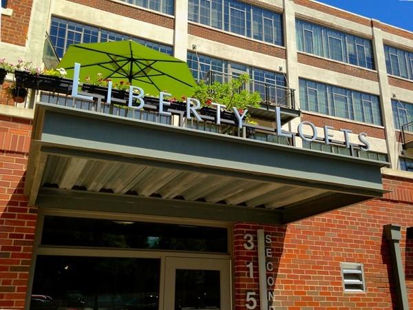 Liberty Lofts entrance