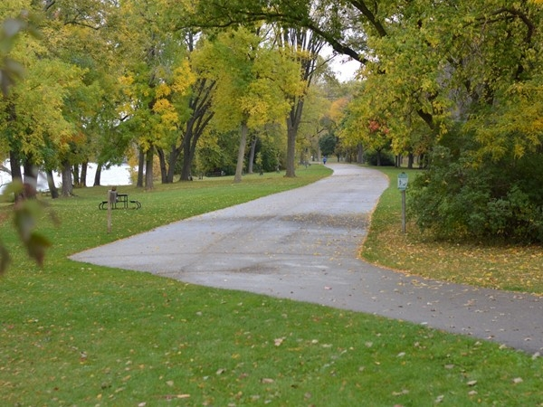 Riverside Park is a beautiful place to take a walk, do some fishing, or have a picnic
