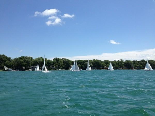 Gull Lake Yacht Club Sunday Races this past Sunday, July 13th