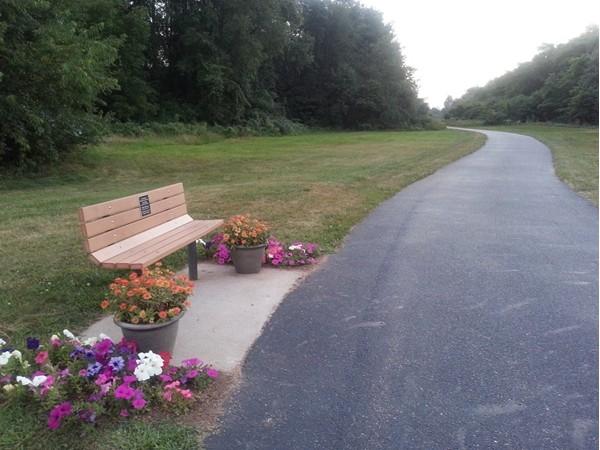 Portage walking/bike path