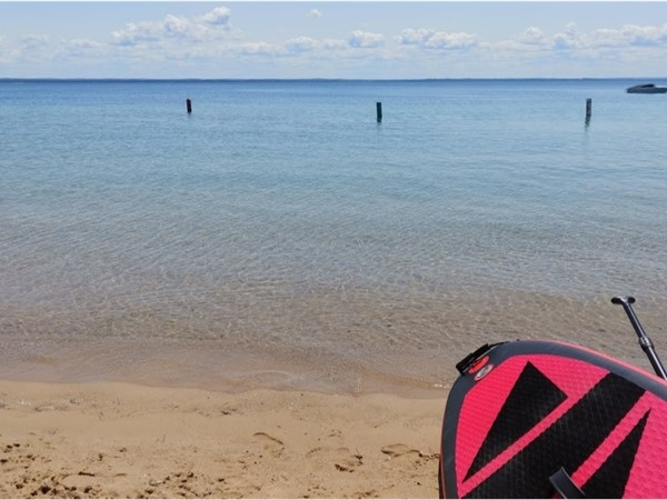 Paddle Haserot Beach on Old Mission Peninsula