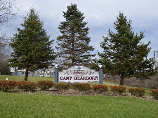 Camp Dearborn is summertime hot spot! Many family memories created here, a family favorite