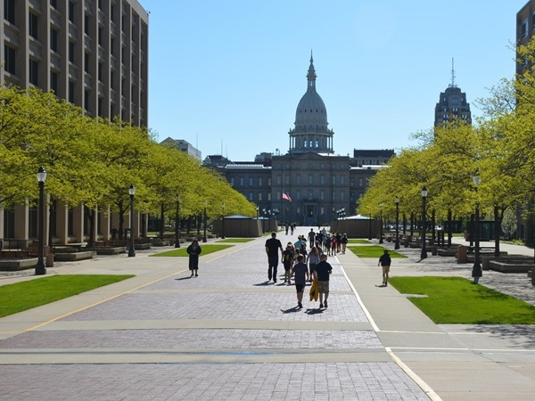 Our State's capital is only an hour away from Lansing. A beautiful place to visit in the spring