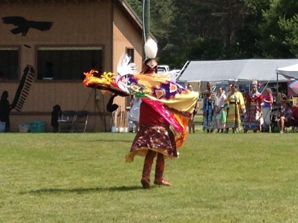 Pow Wow celebration in Harbor Springs