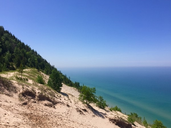 Baldy Dune view at Arcadia Dunes trails; just one more reason to live in northern Michigan