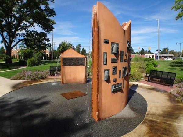 Allendale Ball Park Fountain