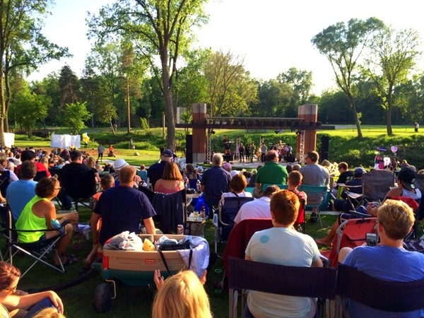 Downtown Milford free summer concerts in the park every Thursday at 7:00 pm