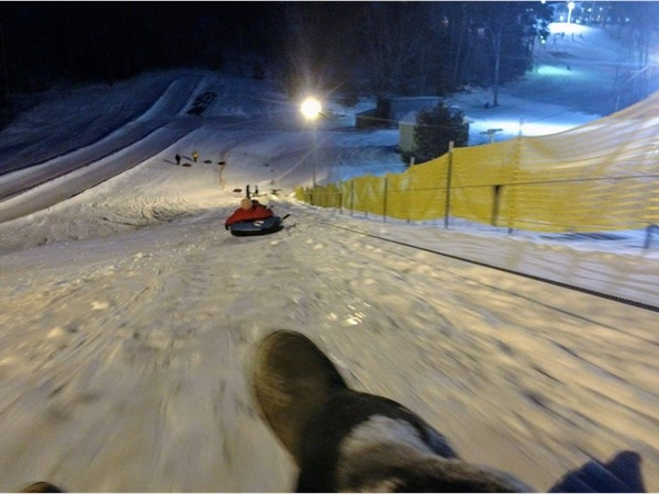 Mt. Holiday ski and sledding area near Traverse City, great family fun