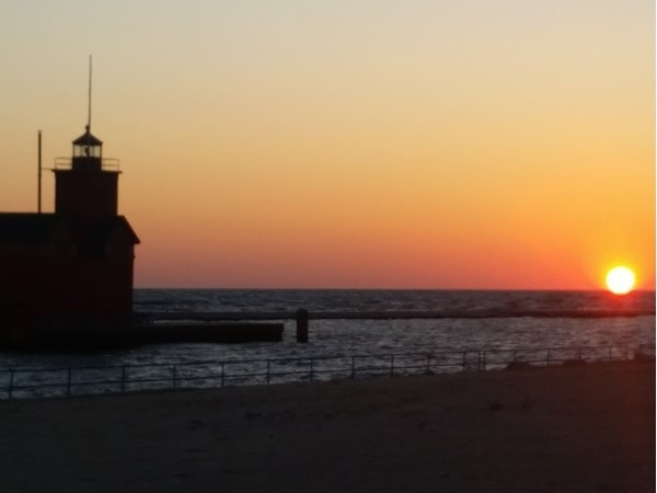 Sunset at Holland State Park