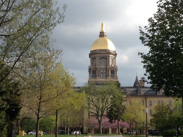 The University of Notre Dame is just across the state line and a few short miles from Niles, MI.