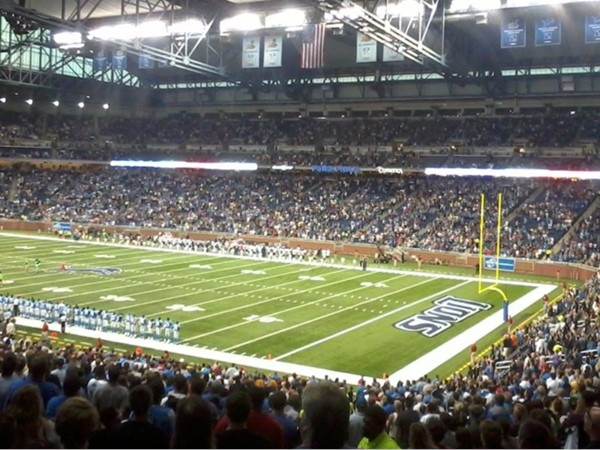 Ford Field in Detroit - Home of the Detroit Lions!