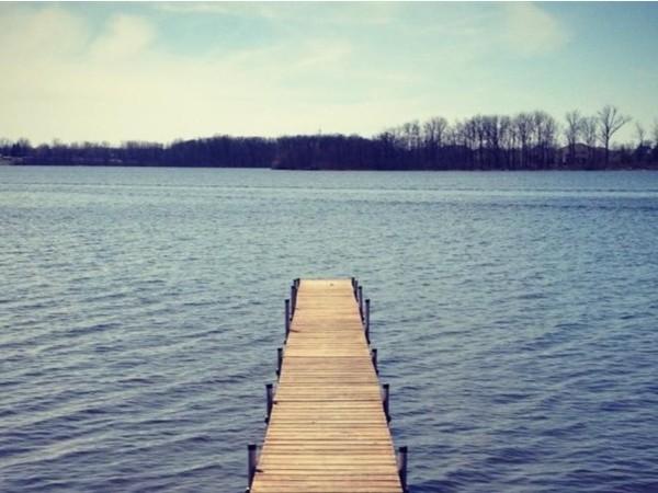Lake Ponemah off Eastview Drive in Fenton
