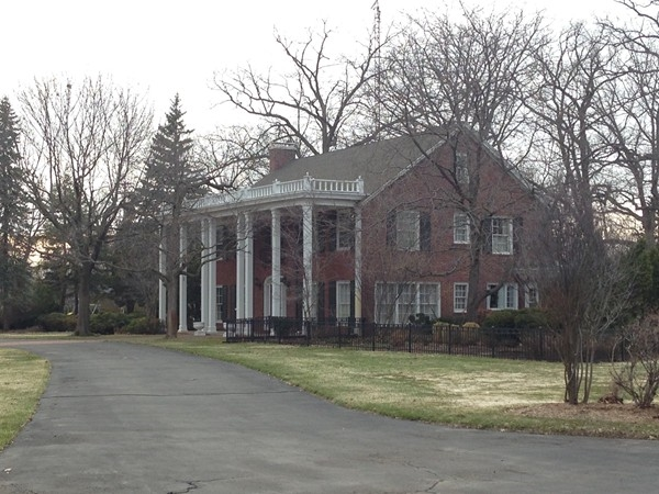 The Mitchell Family Mansion - owners of Mitchell Manufacturing in Owosso