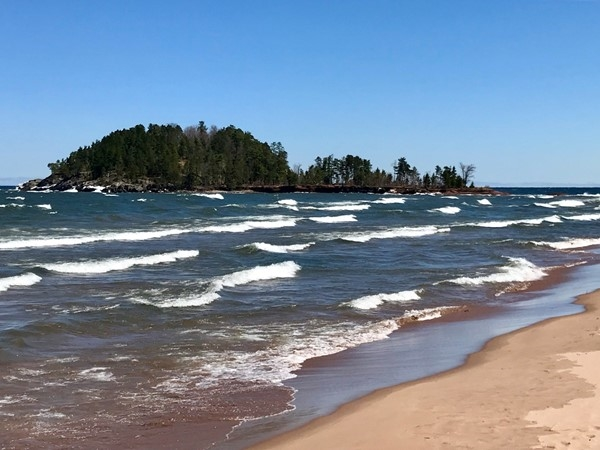 Just north of Marquette, Little Presque Isle features loads of trails and awesome views