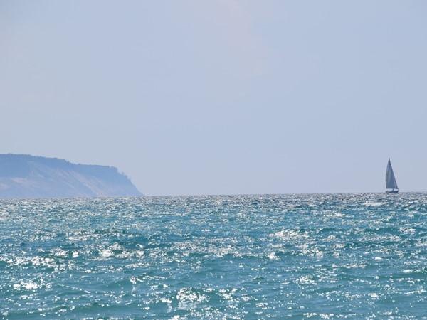 Lake Michigan and Sleeping Bear Dunes...a spectacular view from Vans Beach, Leland