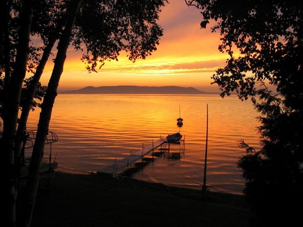 Sunset on Glen Lake