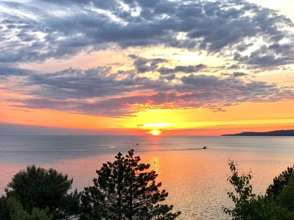 Sunsets never disappoint in Petoskey! No shortage of views around the bay