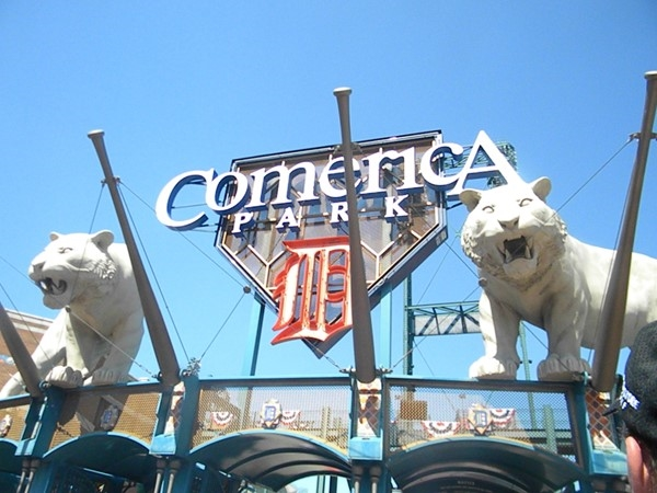 Comerica Park! Family friendly afternoon at the ball park! Go Tigers