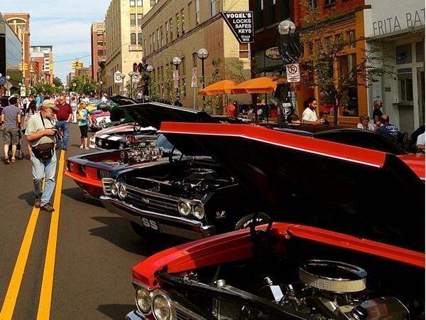Ann Arbor's Annual Rolling Sculpture Car Show