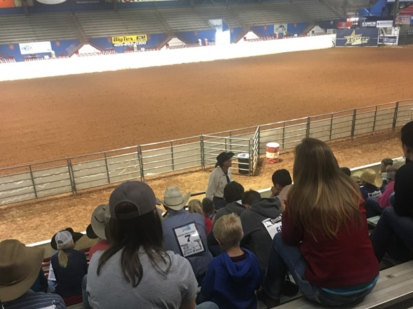 Cowboy Church this morning at the OK High School rodeo at the Lazy E Anena in Guthrie