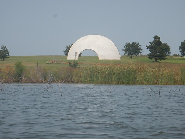 Enjoy outdoor concerts and festivals at the amphitheater at Elk City Lake