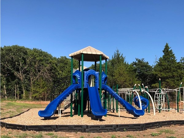 New playground in Woodland Park