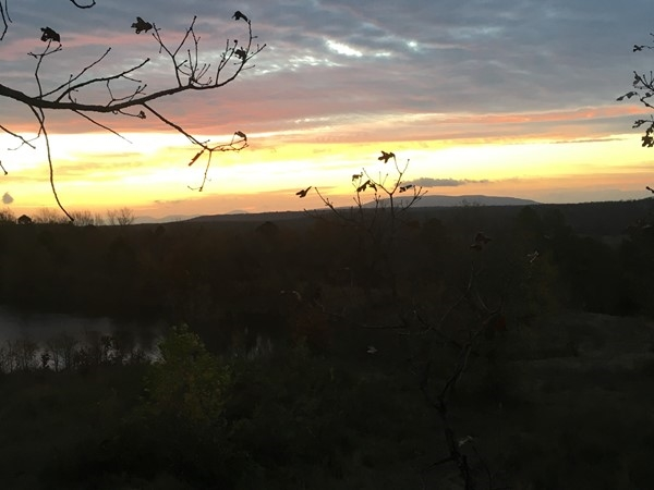 Beautiful opening morning of rifle season in God's Country in Eastern Oklahoma