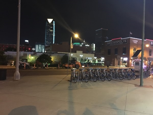 Views in Bricktown. Need to visit Bricktown often, it's constantly changing