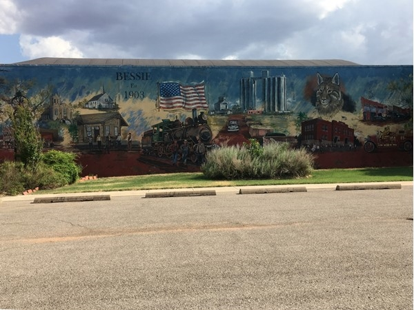 Famous (to locals) Bessie Mural