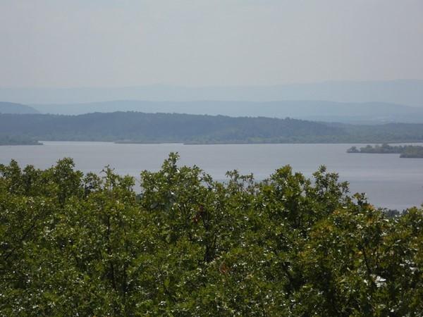 Lake Wister has camping, boating, fishing, skiing and all the lake fun