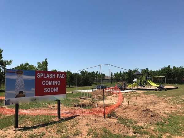 Chisholm Crossing HOA features a Splash Pad coming soon