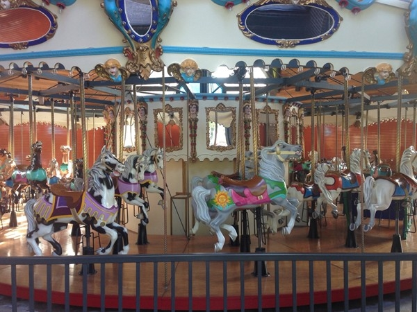 Centennial Carousel is one of Elk City's most visited attractions
