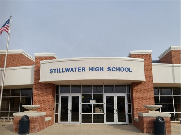 Stillwater High School. Ranked in the top ten in the state of Oklahoma