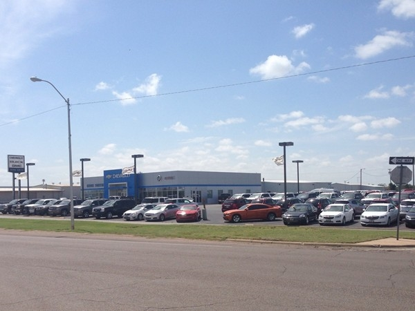 Chevy recently built a new facility in Elk City