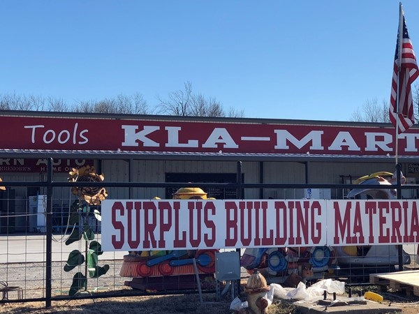 Your place for surplus supplies in Pryor
