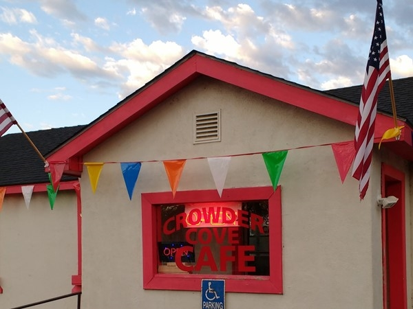 Visit our new Crowder Cove Cafe