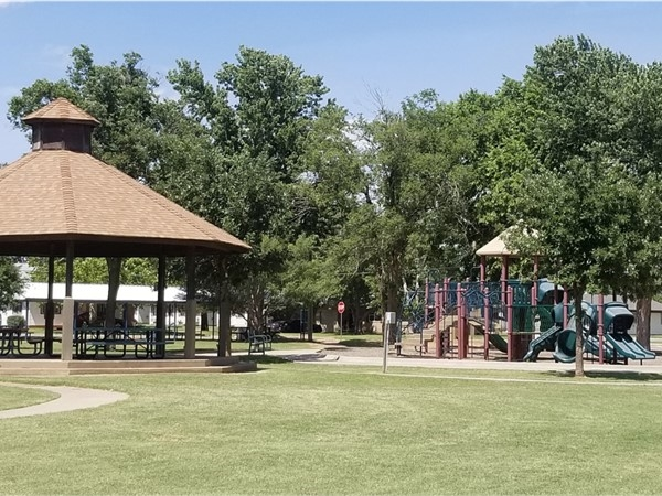 Clark Park is just one of the many parks to enjoy in Weatherford