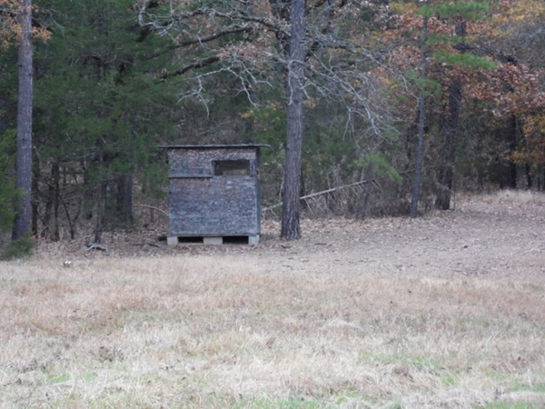Deer blind with no heat...Wister Lake area