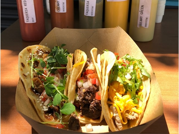 Plethora of great Taco joints nearby. Hacienda, Torchy's, and Abuelo's. Take your pick and enjoy