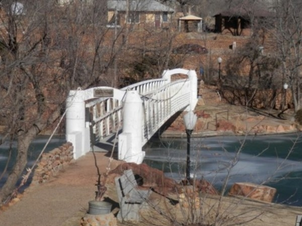 Beautiful scenery and the lake fed waterway make Medicine Park a go to place in SW Oklahoma