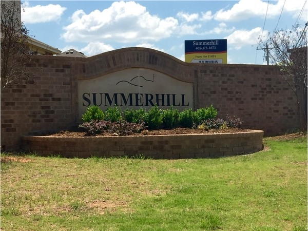 Summerhill is a great addition with new homes being built now starting in the $140's