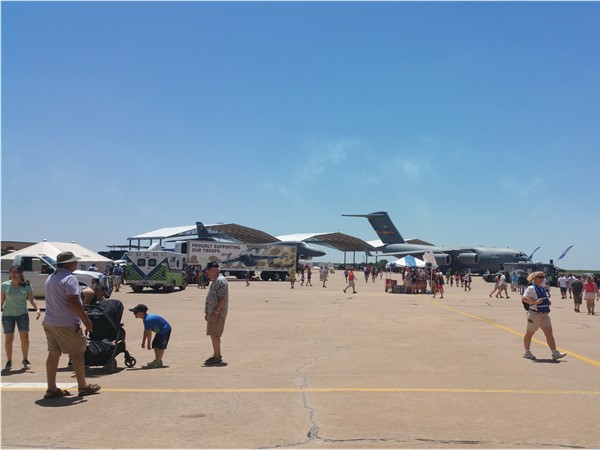 A good time for young and old at the Vance Air Show 2016