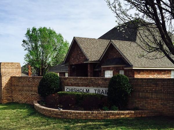 Entrance to Chisholm Trail