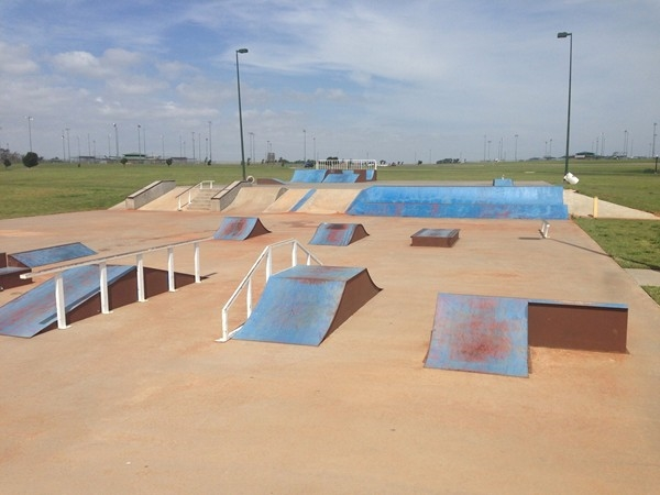 Elk City skate park is loved by local kids and orthopedic surgeons