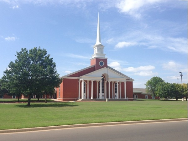 First Baptist Church Can Be Seen From Every Corner Of Elk City