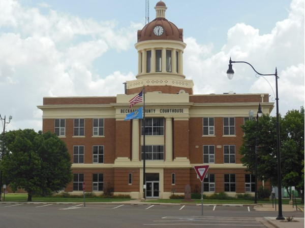 Beckham County Courthouse, Sayre