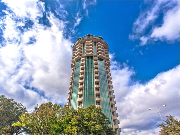 Founders Tower.  An OKC Landmark and now an exclusive address with panoramic views of OKC